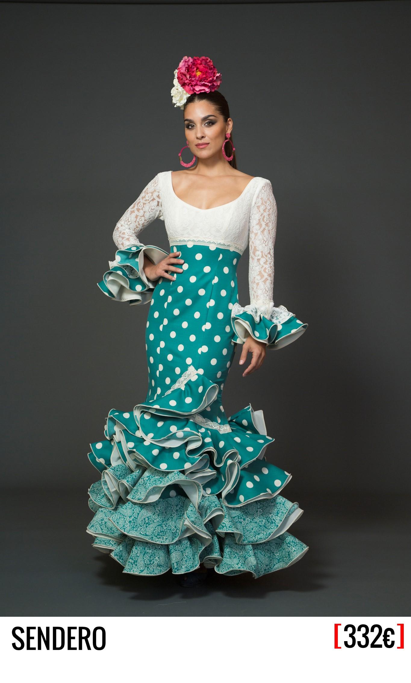 5a68059f8 Traje de Flamenca - Mod. Sendero - Aires de Feria, trajes de flamenca