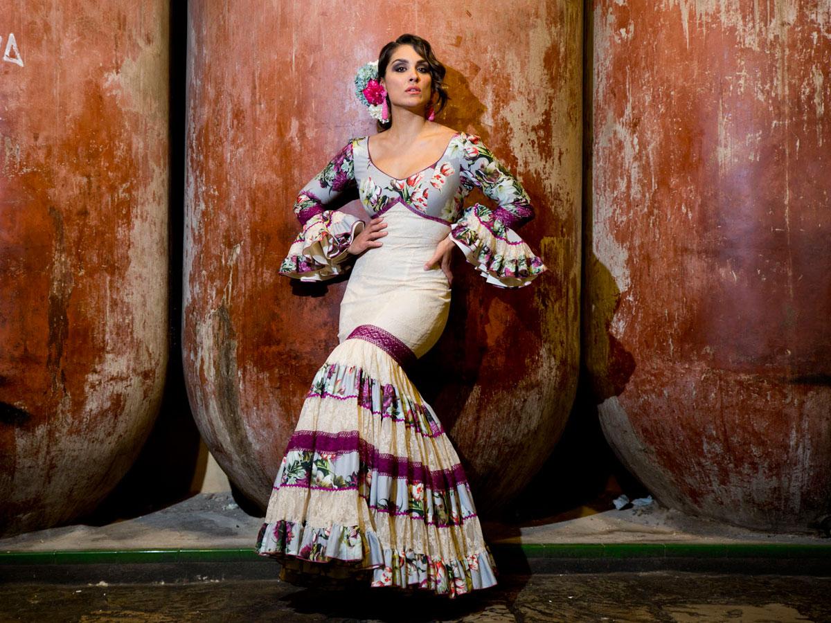 Aires de Feria 2016, trajes de flamenca