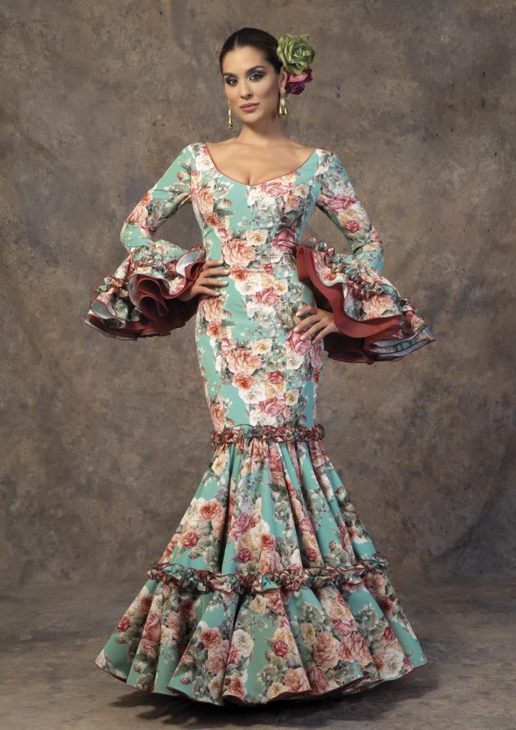 Traje de flamenca de Aires de Feria. Modelo Candela.