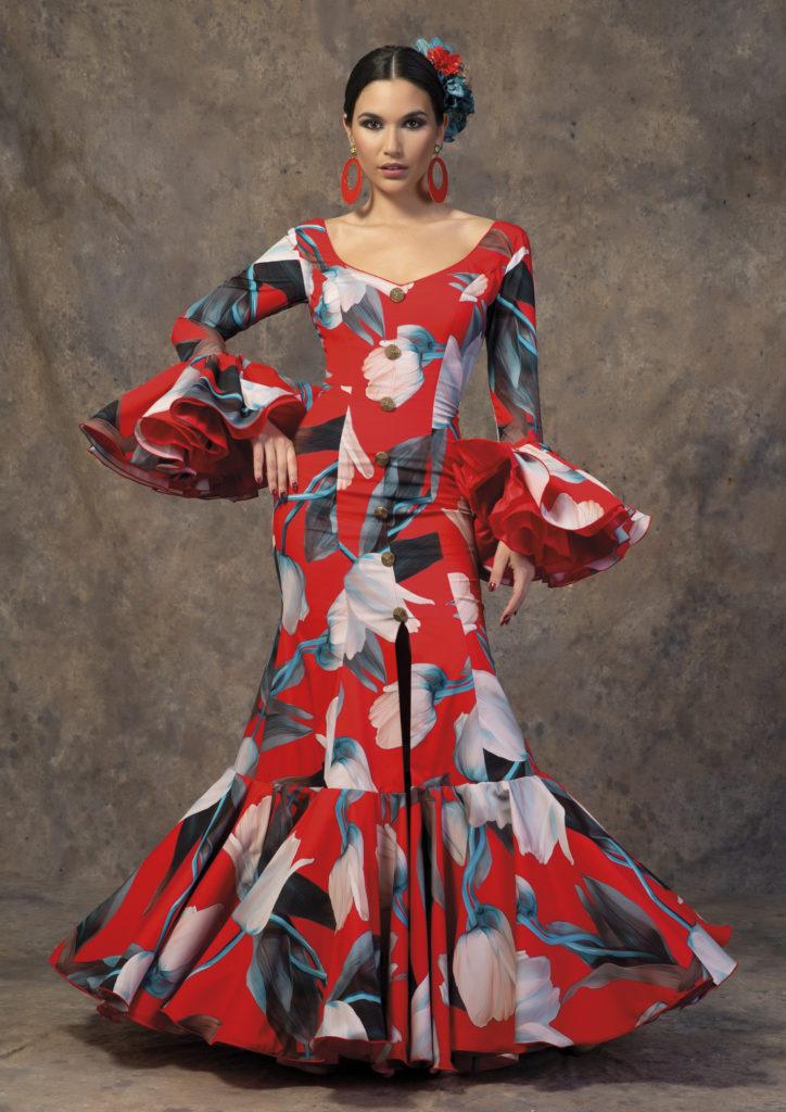Traje de flamenca de Aires de Feria. Modelo Rocío.