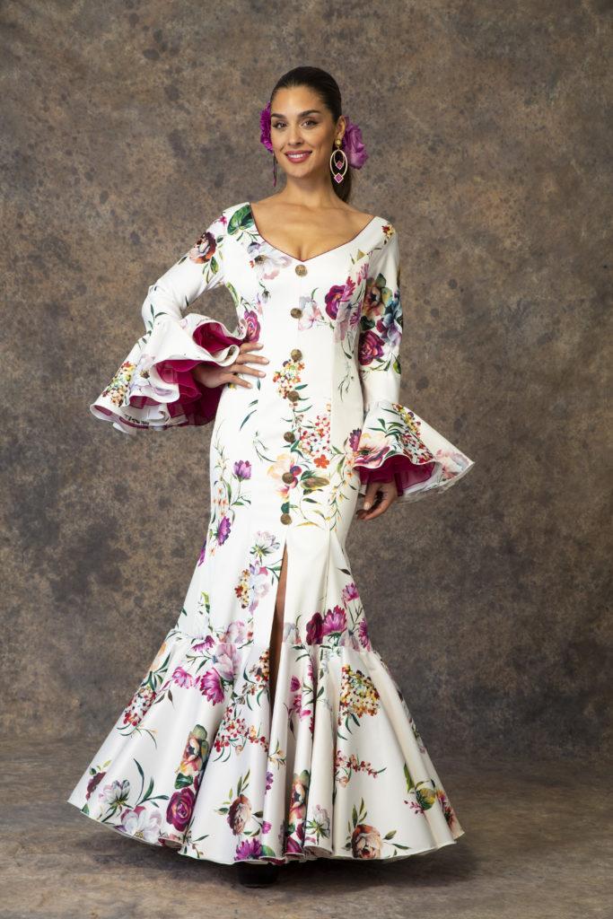 Nuevo traje de flamenca de Aires de Feria 2019. Modelo Rocío.
